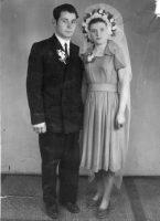 Сям'я Ганчар Ніна Філімонаўна, Сухім Іслам Ібрагімавіч. 1949 год. в. Горкі