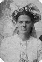 Цыбулька Вольга Міхайлаўна. в. Горкі. 1945 год