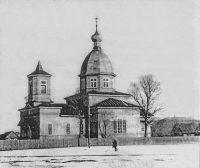 Церковь святого Георгия в д. Романово